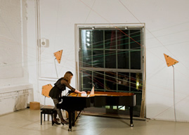 ensemble arcimboldo / resonance-box / Piano Extensions / Helena Bugallo