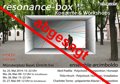 resonance-box, ensemble arcimboldo, reinh�ren Basel